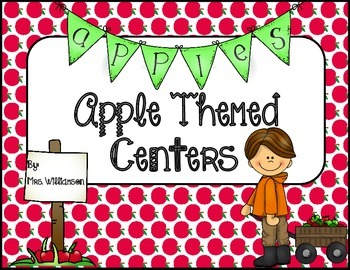 Apple Themed Centers