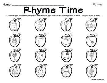 Apple Themed Centers ELA and Math