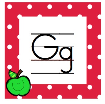 Apple Themed Class Decor: Word Wall, Alphabet, Numbers, Name Plates, Sight Words