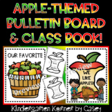 Apple Themed Class Writing Book Bulletin Board Johnny Appl