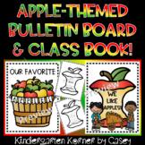 Apple Themed Class Writing Book Bulletin Board Johnny Appl