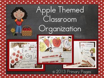 Apple Themed Classroom BUNDLE