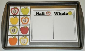 Apple Cookie Sheet Activities