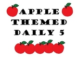 Apple Themed Daily 5