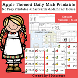 Apple Themed Daily Math