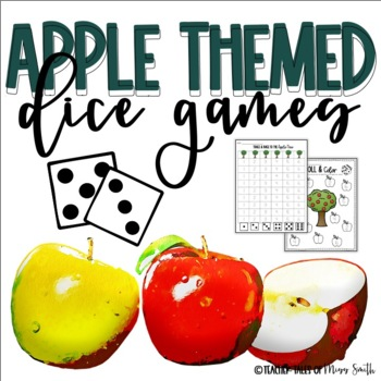 Apple Themed Dice Games Bundle!