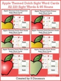 Apple Themed Dolch Sight Words & Nouns Cards Bundle