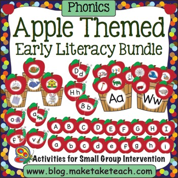 Apple Themed Early Literacy Bundle
