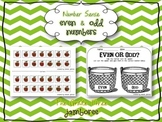 {Apple Themed} Even and Odd Numbers Activity