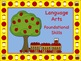 Apple Themed Kindergarten Common Core Posters (ELA) Language Arts & Math