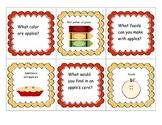 Apple Themed Language Actvities for Preschoolers