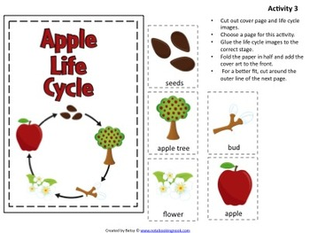 Apple Themed Lapbook