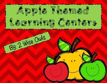 Apple Themed Learning Centers