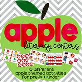 Back to School Apple themed Activities for Pre-k, Kindergarten, and 1st grade