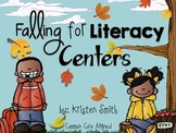 Falling for Literacy Centers {Common Core Aligned}