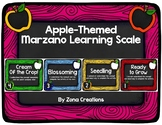 Apple Themed Marzano Learning Scale Rubric