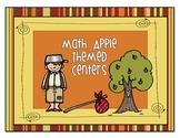 Apple Themed Math Centers