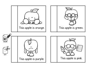 Apple Themed Math & Literacy Activity Set