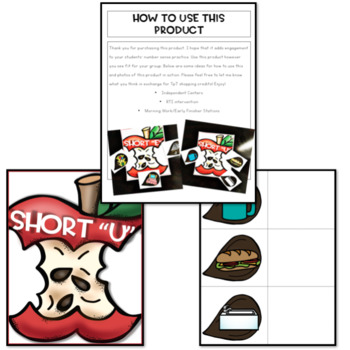 Apple Themed Math and Literacy Activities