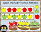 Apple Themed Math and Literacy Activity Bundle