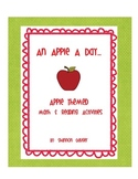 Apple Themed Math and Reading Activities