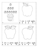 Apple Themed Mini Book