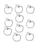 Apple Themed Multiplication