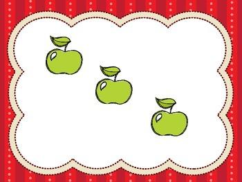 Apple Themed Number Talk