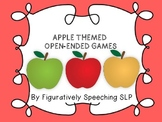 Apple Themed Open-Ended Games {FREEBIE}