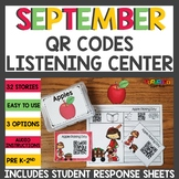 September QR Codes Listening Center