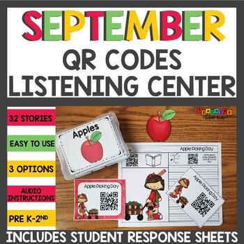 September QR Codes for your Listening Center