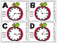 Apple Themed Quarter-Past the Hour Telling Time  Roam the Room Task Cards