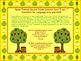 Apple Themed Second Grade Common Core Checklist (ELA) Language Arts & Math