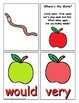 Apple Themed Sight Word Recognition Center or Whole Group Game for Second Grade