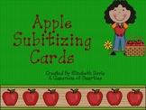 Apple Themed Subitizing Cards