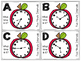 Apple Themed Telling Time to 5-Minute Intervals Roam the R