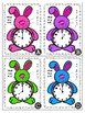 Easter Bunny Themed Telling Time to the Hour Roam the Room