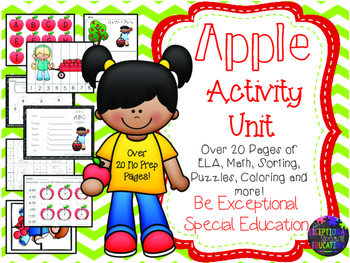Apple Themed Unit