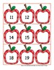 What's the Missing Number?  An Apple Themed Skip Counting Math Center