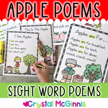 Apple Poems (Sight Word Poems for Shared Reading) Beginning Readers