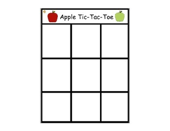 Apple Tic-Tac-Toe