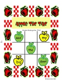 Apple Tic Tac Toe (A Pre-Primer Dolch Word Game)