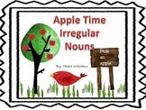 Apple Time Irregular Nouns