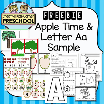 Apple Time & Letter Aa Sample