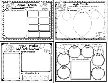 Apple Trouble (Story companion with story and nonfiction QR codes)