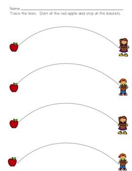 Apple Tracing and Cutting Fun