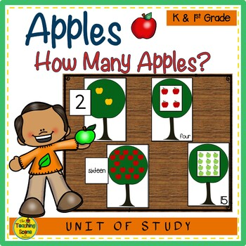 Apple Tree 0-20 Counting Game
