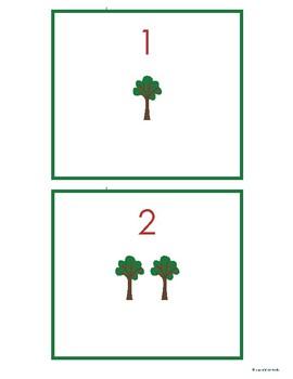 Apple Tree 1:1 Correspondence Cards