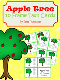 Apple Tree 10 Frame Task Cards