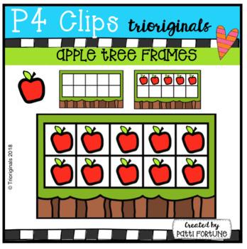 Apple Tree 10 Frames (P4 Clips Trioriginals)